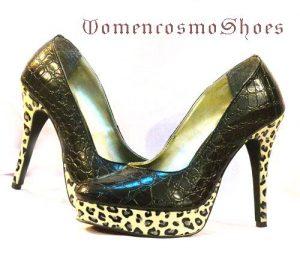 sepatu wanita animal print
