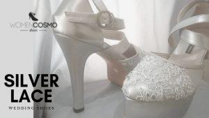 Sepatu Wedding Silver womencosmo