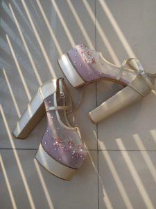 sepatu wedding15cm