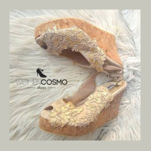 Sandal Pesta Wedges