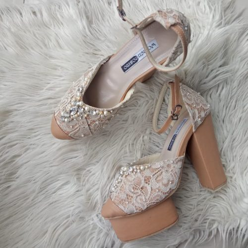 sepatu wedding hak tingg